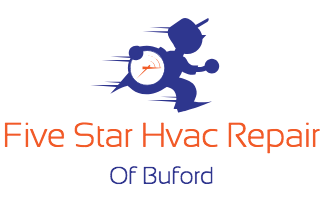 Five Star HVAC Repair of Buford Logo